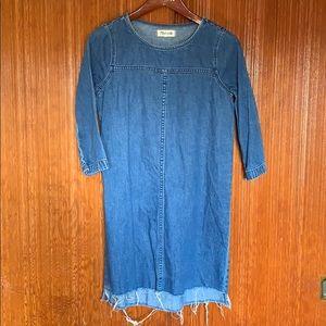 MADEWELL Jean Dress. XS